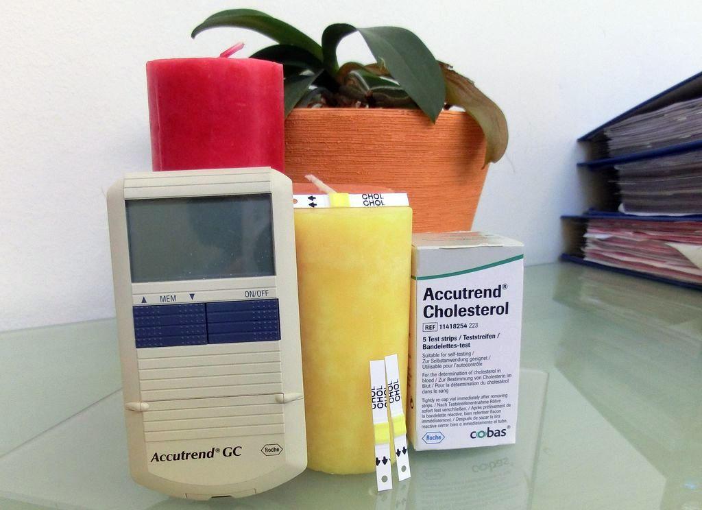 Hiermit testen wir Ihren Cholesterinwert - Aktionstag Freitag, 21. Juni.