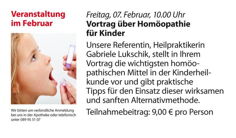 Pharao Apotheke - Vortrag zur Homöopathie bei Kindern