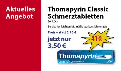 pharao apotheke - thomapyrin classic schmerztabletten