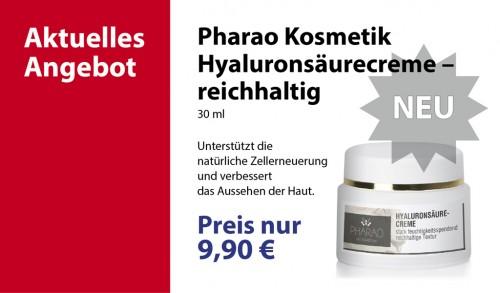 Pharao Kosmetik Hyaluronsäurecreme