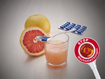 Achtung, Wchselwirkungen: Grapefruit