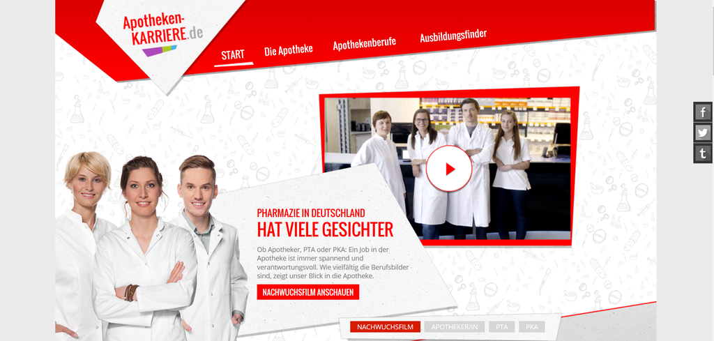 Berufe in der Apotheke: Berufsberatung auf www.apotheken-karriere.de
