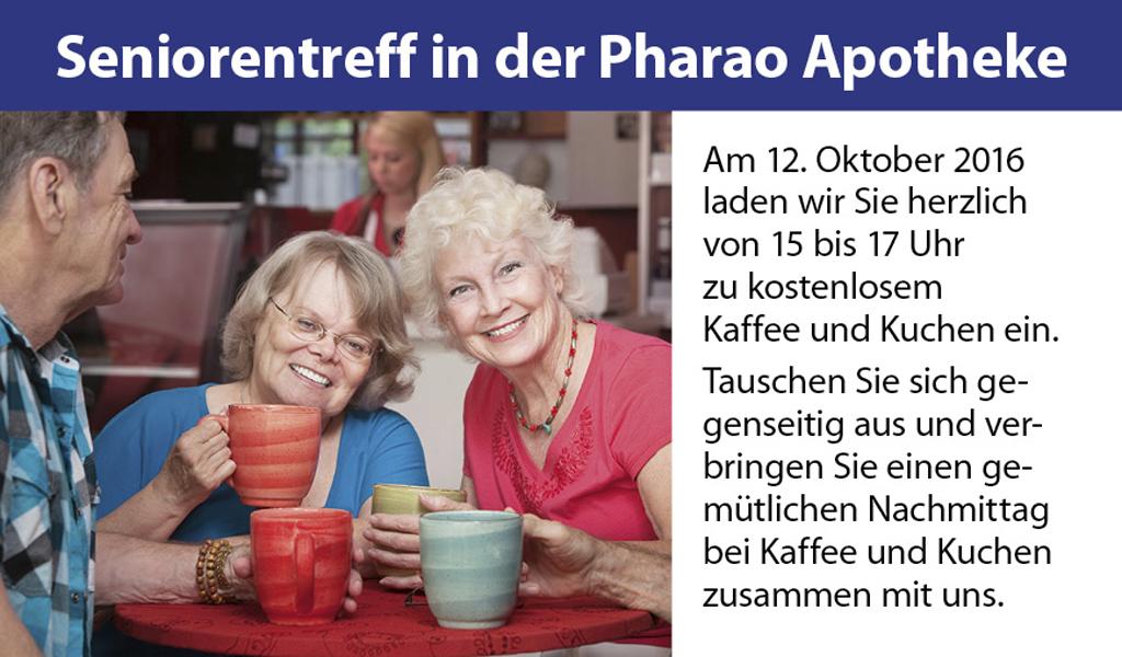 Seniorentreff in der Pharao Apotheke München-Oberföhring
