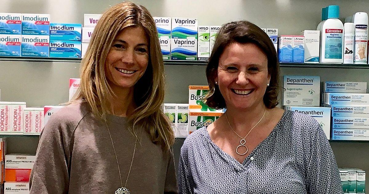 Vortrag: Nahrungsmittelunverträglichkeit - Was kann ich tun? Referentinnen Kerstin Lerchl und Claudia Prem